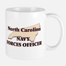 North Carolina Navy Forces Officer Mugs