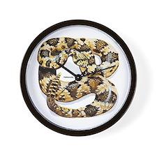 Rattlesnake Snake Wall Clock