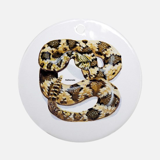 Rattlesnake Snake Keepsake (Round)