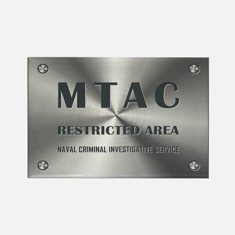 MTAC Rectangle Magnet