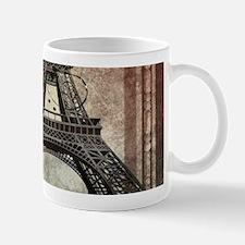 shabby chic swirls eiffel tower paris Mugs
