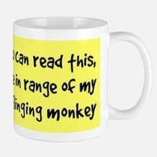 Poo-Flinging Monkey - Coffee Mug