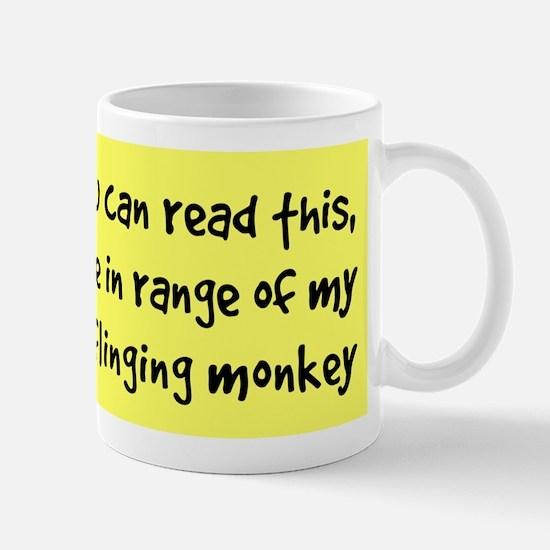 Poo-Flinging Monkey - Coffee Mug