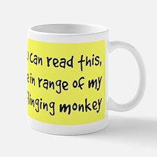 Poo-Flinging Monkey - Coffee Small Mugs