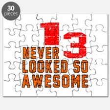 13 Never looked So Awesome Puzzle