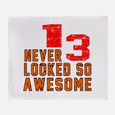 13 Never looked So Awesome Throw Blanket