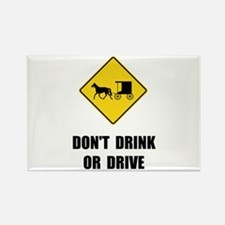 Unique Drink and drive Rectangle Magnet