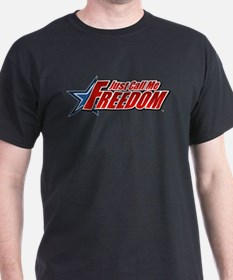 Freedom - Black T-Shirt