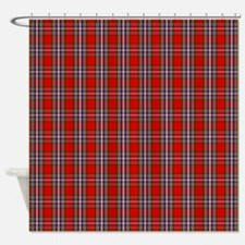 MacFarlane Red Scottish Tartan Shower Curtain