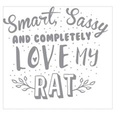 Smart, Sassy and completely love my RAT Poster