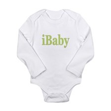 Cute Love nerd Long Sleeve Infant Bodysuit