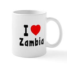 I Love Zambia Mug