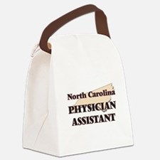 North Carolina Physician Assistan Canvas Lunch Bag
