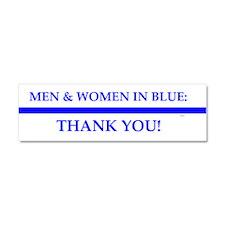 Police Lives Matter, Car Magnet 10 X 3