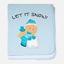 Let It Snow _Blonde.png baby blanket