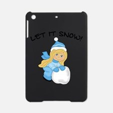 Let It Snow _Blonde.png iPad Mini Case