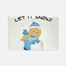 Let It Snow _Blonde Magnets