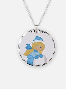 Let It Snow _Blonde.png Necklace
