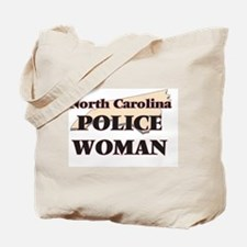 North Carolina Police Woman Tote Bag