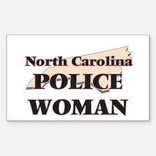 North Carolina Police Woman Decal