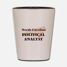 North Carolina Political Analyst Shot Glass