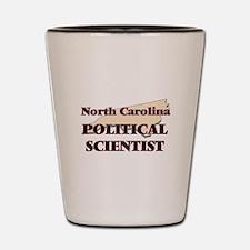 North Carolina Political Scientist Shot Glass