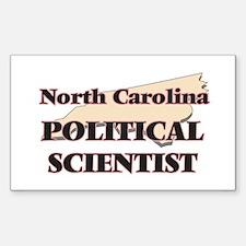 North Carolina Political Scientist Decal