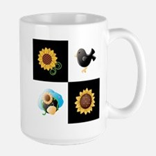 SUNFLOWERS & SCARECROWS Mugs
