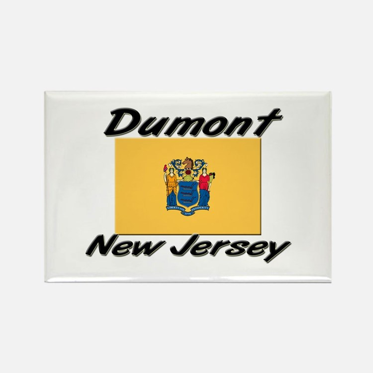 Dumont New Jersey Rectangle Magnet