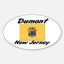 Dumont New Jersey Oval Decal