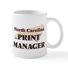 North Carolina Print Manager Mugs
