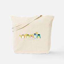 Sparkler Owls Tote Bag