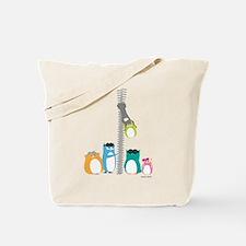 Zip Zip Owls Tote Bag