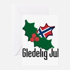 Cute Norwegian heritage Greeting Cards (Pk of 20)