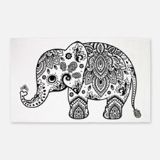 Cute elephant Area Rug