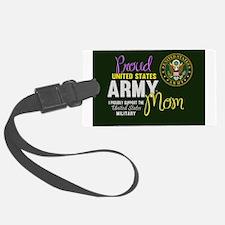 Cute Proud army mom tags Luggage Tag