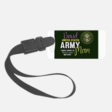 Unique Army mom Luggage Tag