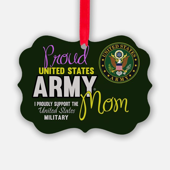Cute Army brat Ornament