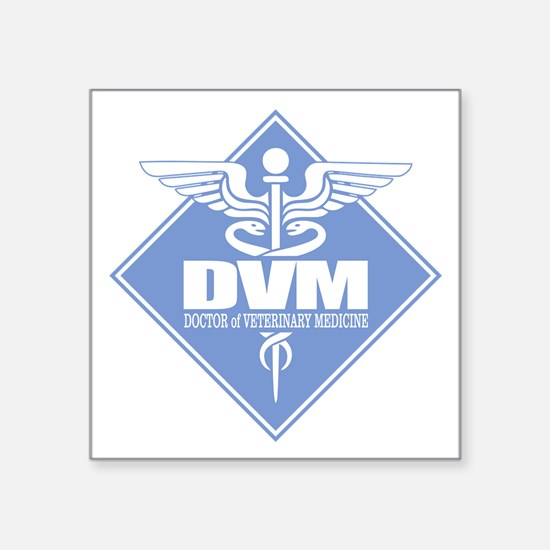 DVM (b)(diamond) Sticker