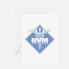 DVM (b)(diamond) Greeting Cards
