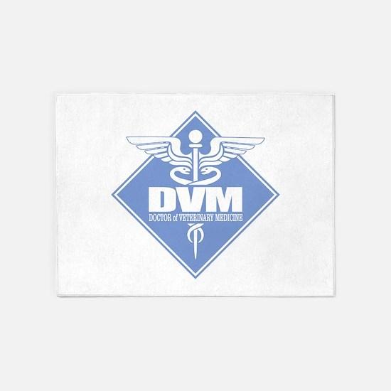 DVM (b)(diamond) 5'x7'Area Rug