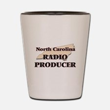North Carolina Radio Producer Shot Glass