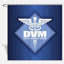 DVM (b)(diamond) Shower Curtain