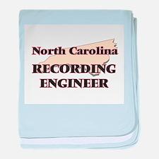 North Carolina Recording Engineer baby blanket