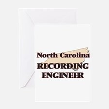 North Carolina Recording Engineer Greeting Cards