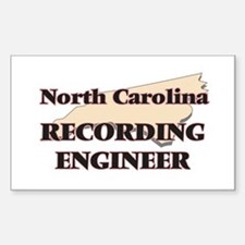 North Carolina Recording Engineer Decal