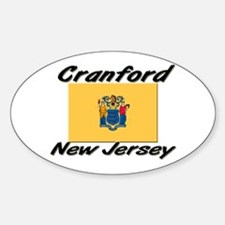 Cranford New Jersey Oval Decal