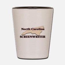 North Carolina Screenwriter Shot Glass