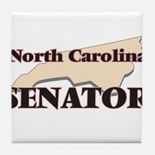 North Carolina Senator Tile Coaster