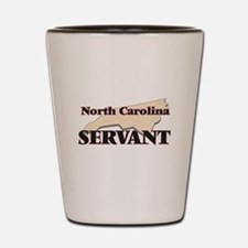 North Carolina Servant Shot Glass